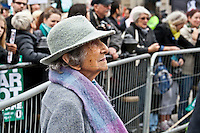 Hetty Bower, 106-year-old anti-war campaigner - 2011<br />