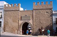 Spanien, Andalusien, Stadttor von Tarifa