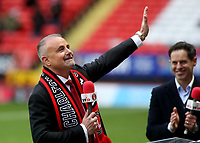 New Charlton Owner, Thomas Sandgaard, waves at the home fans ahead of kick-off during Charlton Athletic vs AFC Wimbledon, Sky Bet EFL League 1 Football at The Valley on 12th December 2020