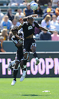 D.C. United's Rodney Wallace during a game against the Los Angeles Galaxy at the Home Depot Center in Carson, CA on Sunday, March 22, 2009.