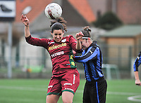 2012.12.15 Zulte-Waregem - Club Brugge Dames