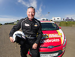 Super Rally. Ally McCoist about to do some fast rallycross laps at Knockhill today as Ladbrokes Ambassadors preview Euro 2016