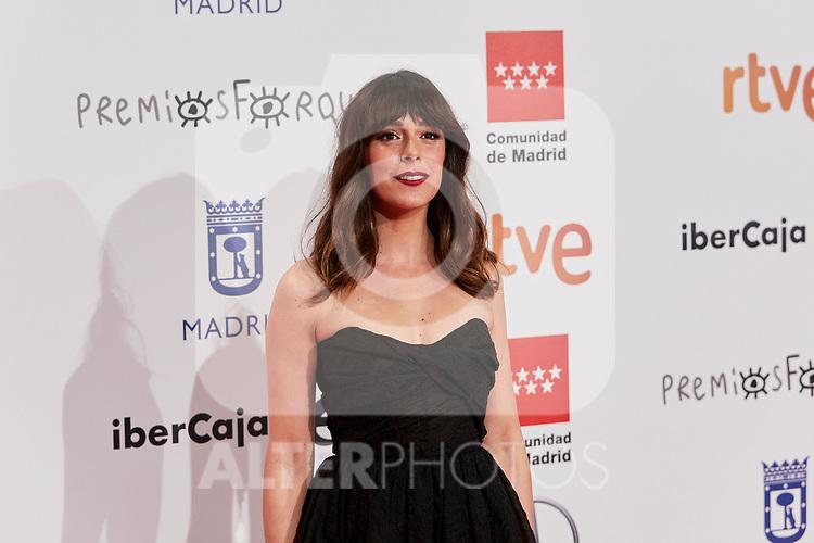 Belen Cuesta attends to XXV Forque Awards at Palacio Municipal de Congresos in Madrid, Spain. January 11, 2020. (ALTERPHOTOS/A. Perez Meca)
