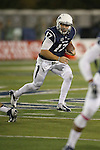 Nevada's Cody Fajardo (17) runs with the ball against Colorado State during the first half of an NCAA college football game in Reno, Nev., on Saturday, Oct. 11, 2014. (AP Photo/Cathleen Allison)