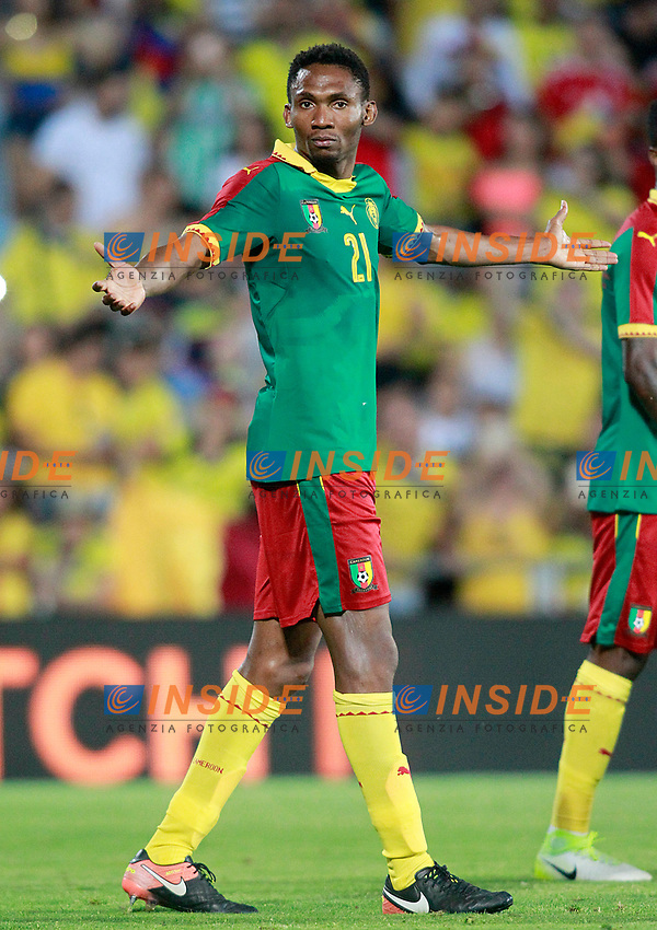 Cameroon's Lucien Owona during international friendly match. June 13,2017.(ALTERPHOTOS/Acero/Insidefoto)<br /> Camerun - Colombia <br /> Foto Acero/Alterphotos/Insidefoto <br /> ITALY ONLY