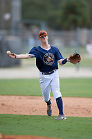 Dylan Cupp (31) during the WWBA World Championship at the Roger Dean Complex on October 11, 2019 in Jupiter, Florida.  Dylan Cupp attends Cedartown High School in Cedartown, GA and is committed to Mississippi State.  (Mike Janes/Four Seam Images)