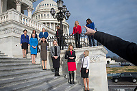Freshmen GOP members of Congress group photograph on the East Front Steps of the U.S. Capitol