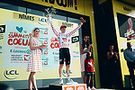 Tim Wellens (BEL) Lotto-Soudal retains the mountains Polka Dot Jersey at the end of Stage 16 of the 2019 Tour de France running 177km from Nimes to Nimes, France. 23rd July 2019.<br /> Picture: ASO/Thomas Maheux   Cyclefile<br /> All photos usage must carry mandatory copyright credit (© Cyclefile   ASO/Thomas Maheux)