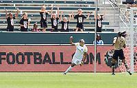 LA Sol's Marta celebrates a her goal. The LA Sol defeated FC Gold Pride of the Bay Area 1-0 at Home Depot Center stadium in Carson, California on Sunday April 19, 2009.  .