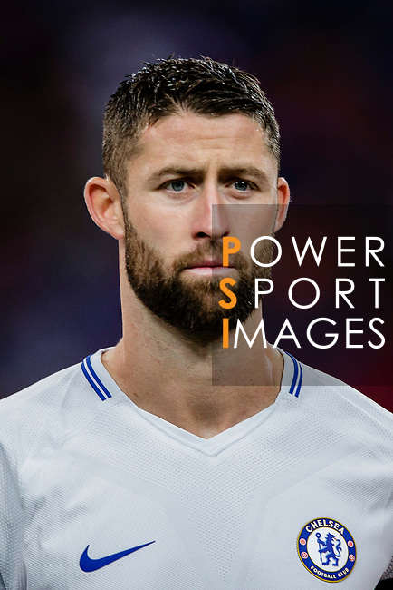 Chelsea Defender Gary Cahill during the International Champions Cup 2017 match between FC Internazionale and Chelsea FC on July 29, 2017 in Singapore. Photo by Marcio Rodrigo Machado / Power Sport Images
