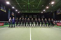 Rotterdam, The Netherlands, 14 Februari 2019, ABNAMRO World Tennis Tournament, Ahoy, Wheelchair, Final, Linesmen,<br /> Photo: www.tennisimages.com/Henk Koster