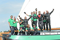 ZEILSPORT: LEMMER: 16-08-2019, IFKS Skûtsjesilen, winnaars a Klein, Andries Brouwer - (Akkrum), ©foto Martin de Jong
