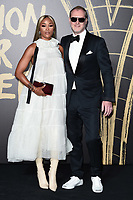 LONDON, UK. September 14, 2019: Eve & Maxamillian Cooper at the Fashion for Relief Show 2019 at the British Museum, London.<br /> Picture: Steve Vas/Featureflash