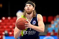 10-04-2021: Basketbal: Donar Groningen v ZZ Leiden: Groningen, Leiden speler Michael Finke