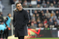 Swansea manager Carlos Carvalhal stands on the touch line during the Premier League match between Newcastle United and Swansea City at St James' Park, Newcastle, England, UK. Saturday 13 January 2018