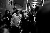 Moscow, Russia<br /> March 31, 2010<br /> <br /> Ludmila Alexeeva, 82 years after old putting flowers at the Park Kultura subway station where at least 12 people were killed by a terrorist bomb the day before.<br /> <br /> She is Chair of the Moscow Helsinki Group, is the doyenne of Russia's human rights community. Thirty years ago, she was one of the original Soviet-era dissidents who spoke out against repression. Today, she is not afraid to raise her voice in the renewed fight for rights in Russia, including criticizing policies on hate crimes as well as the war in Chechnya, and is a mentor to the new generation of dissidents. Alexeeva published the seminal book Soviet Dissent in 1985. She also served as President of the International Helsinki Federation for Human Rights - an umbrella group of human rights organizations from 38 countries -- from 1999 to 2004.