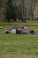 Rusted Out Jalopy, Marblemount, Washington, US
