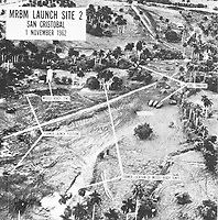 Sites of Soviet missiles in Cuba in 1962.<br /> <br /> Credit: John Fitzgerald Kennedy Library.