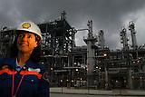 Refineria Deer Park en Houston, Texas, USA.