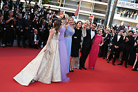 Add to Board 'The Beguiled' Red Carpet Arrivals - The 70th Annual Cannes Film Festival<br /> CANNES, FRANCE - MAY 24: (L-R) Angourie Rice, Colin Farrell, Nicole Kidman, director Sofia Coppola, Kirsten Dunst, Elle Fanning and Addison Riecke attend the 'The Beguiled' screening during the 70th annual Cannes Film Festival at Palais des Festivals on May 24, 2017 in Cannes, France