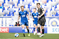 Lee Evans, Wigan Athletic,  lays the ball off during Ipswich Town vs Wigan Athletic, Sky Bet EFL League 1 Football at Portman Road on 13th September 2020