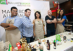 26 OCTOBER 2012:   MasterChef's George Calombaris and Gary Mehgian on a food tour to Natures Basket in Defence Colony, New Delhi where they judged a cooking competition and signed some books for guests  during their visit to India as ambassadors for Oz Fest. Picture by Graham Crouch