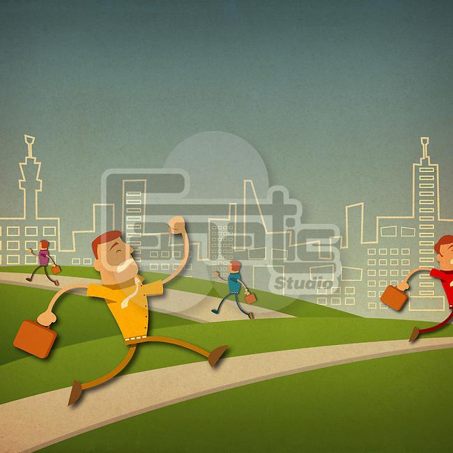 Corporate race