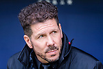 Coach Diego Simeone of Atletico de Madrid reacts prior to the La Liga 2017-18 match between Atletico de Madrid and RC Celta de Vigo at Wanda Metropolitano on March 11 2018 in Madrid, Spain. Photo by Diego Souto / Power Sport Images
