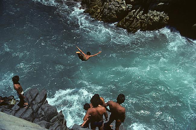 Cliff Diver, Acapulco, Mexico