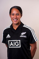 Tiana Ngawati. New Zealand Black Ferns headshots at The Rugby Institute, Palmerston North, New Zealand on Thursday, 28 May 2015. Photo: Dave Lintott / lintottphoto.co.nz