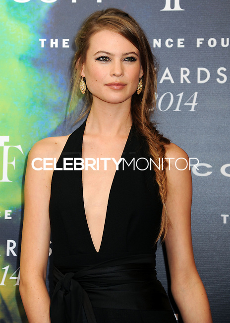NEW YORK CITY, NY, USA - JUNE 16: Model Behati Prinsloo arrives at the 2014 Fragrance Foundation Awards held at the Alice Tully Hall, Lincoln Center on June 16, 2014 in New York City, New York, United States. (Photo by Celebrity Monitor)