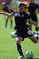 Washington Freedom midfielder Homare Sawa (10) during pre-game warmups.  Washington Freedom defeated Skyblue FC  2-1at RFK Stadium, Saturday May 23, 2009.