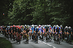 The peloton during Stage 3 of the 2021 Tour de France, running 182.9km from Lorient to Pontivy, France. 28th June 2021.  <br /> Picture: A.S.O./Pauline Ballet | Cyclefile<br /> <br /> All photos usage must carry mandatory copyright credit (© Cyclefile | A.S.O./Pauline Ballet)