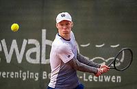 Netherlands, Oktober 17,  2021, Beneden-Leeuwen, KIA Competition Men, premier league, Lewabo vs Suthwalda, Jarno Jans (NED)<br /> Photo: Henk Koster/tennisimages.com