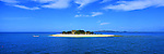 South Sea Island in the Mamanucas, Fiji Islands<br /> <br /> Image taken on large format panoramic 6cm x 17cm transparency. Available for licencing and printing. email us at contact@widescenes.com for pricing.