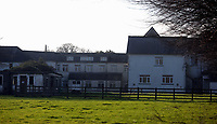 Pictured: The premises where the European Institute of Human Sciences was based in Llanybydder, Carmarthenshire, Wales, UK<br />