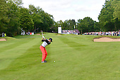 Rory MCILROY (NIR) during round 2 of the 2015 BMW PGA Championship over the West Course at Wentworth, Virgina Water, London. 22/05/2015<br /> Picture Fran Caffrey, www.golffile.ie: