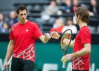 13-02-13, Tennis, Rotterdam, ABNAMROWTT, Stephan Fransen / Wesley Koolhof