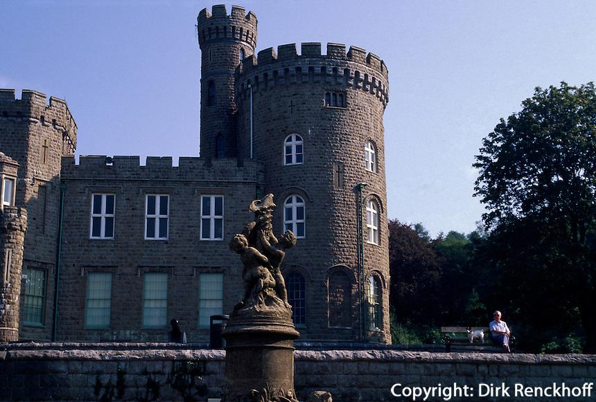 Großbritannien, Wales, Schloss in Merthyr Tyidfil