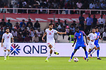 Abdulla Yusuf Helal of Bahrain (C) in action during the AFC Asian Cup UAE 2019 Group A match between India (IND) and Bahrain (BHR) at Sharjah Stadium on 14 January 2019 in Sharjah, United Arab Emirates. Photo by Marcio Rodrigo Machado / Power Sport Images