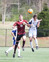 The Winthrop University Eagles played the UNC Wilmington Seahawks in The Manchester Cup on April 5, 2014.  The Seahawks won 1-0.  Pol Sole (10), Jamie Dell (11)