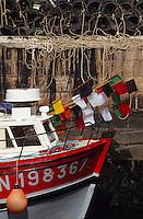 Europe/France/Pays de la Loire/44/Loire-Atlantique/Le Croisic: Le port - Bâteau de pêche aux crustacés