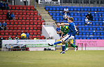 St Johnstone v Preston North End…13.07.21  McDiarmid Park<br />David Wotherspoon puts his penalty kick over the bar<br />Picture by Graeme Hart.<br />Copyright Perthshire Picture Agency<br />Tel: 01738 623350  Mobile: 07990 594431