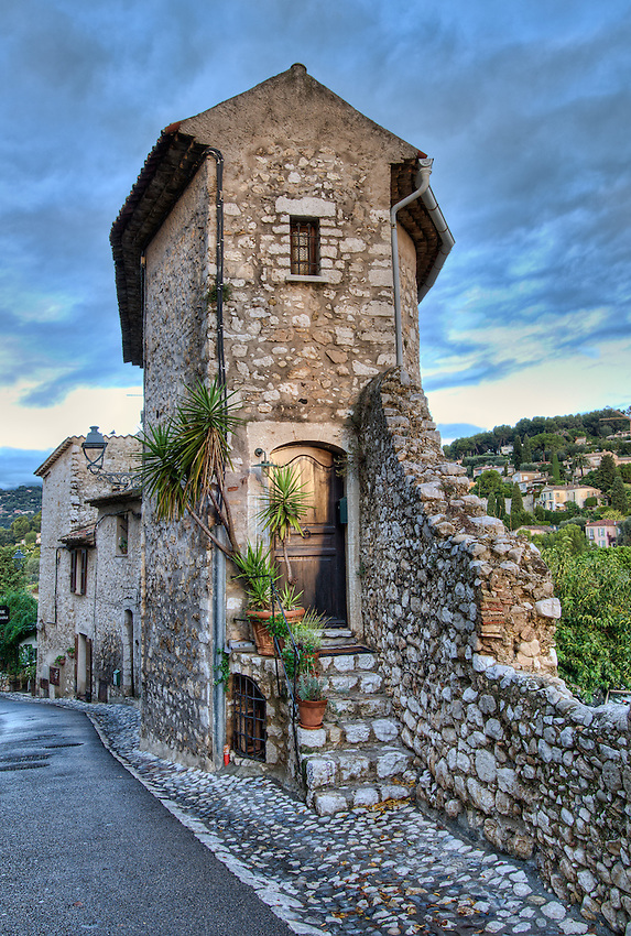 House in Saint Paul de Vence, Early Morning