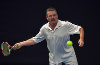 Hilversum, The Netherlands, March 10, 2016,  Tulip Tennis Center, NOVK, Peter Driebergen (NED)<br /> Photo: Tennisimages/Henk Koster