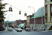 Albany: Looking east down Madison from corner of Madison and Grand. Photo '88.