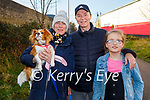 Taking Rosie the dog for a walk on the Tralee Greenway on Sunday l to r: Kerry, John and Molly Griffin.