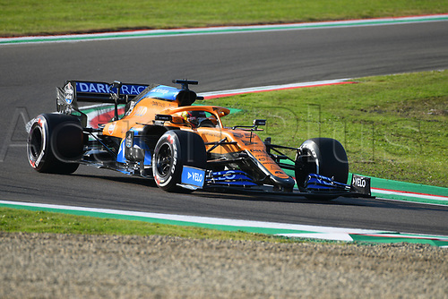 31st October 2020, Imola, Italy; FIA Formula 1 Grand Prix Emilia Romagna, Qualifying;  55 Carlos Sainz ESP, McLaren F1 Team