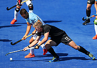 Sam Lane during the Pro League Hockey match between the Blacksticks men and the Argentina, Nga Punawai, Christchurch, New Zealand, Sunday 1 March 2020. Photo: Simon Watts/www.bwmedia.co.nz
