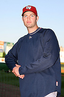 July 1st 2008:  Pitcher J.A. Happ of the Lehigh Valley IronPigs, Class-AAA affiliate of the Philadelphia Phillies, during a game at Frontier Field in Rochester, NY.  Photo by:  Mike Janes/Four Seam Images